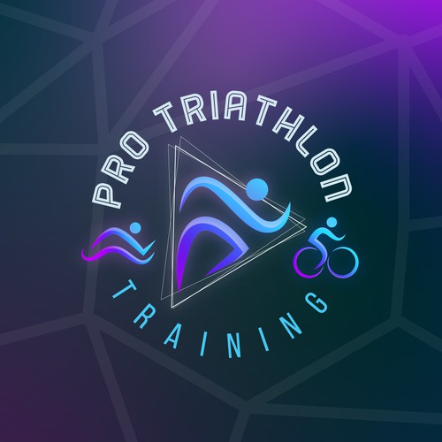 Sports Logo for Pro Triathlon