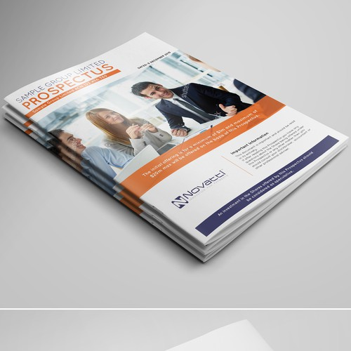 Magazine Cover for Professional Consulting Business