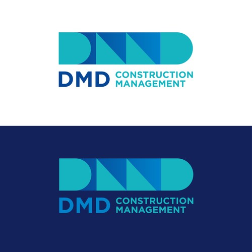Geometric Logo for a construction management company