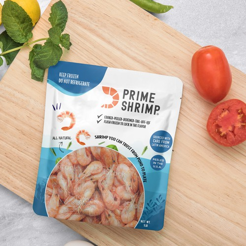 Shrimp Packaging Design