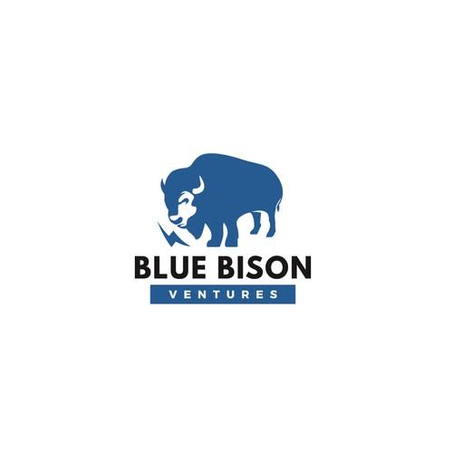 Blue Bison Logo