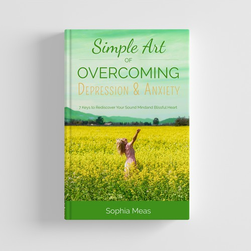 Book Cover Simple Art of Overcoming Depresion and Anxiety
