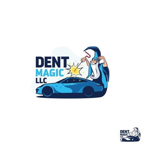 Magic Logo for dent healer.