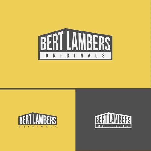 Simple Logo fot Bert Lambers