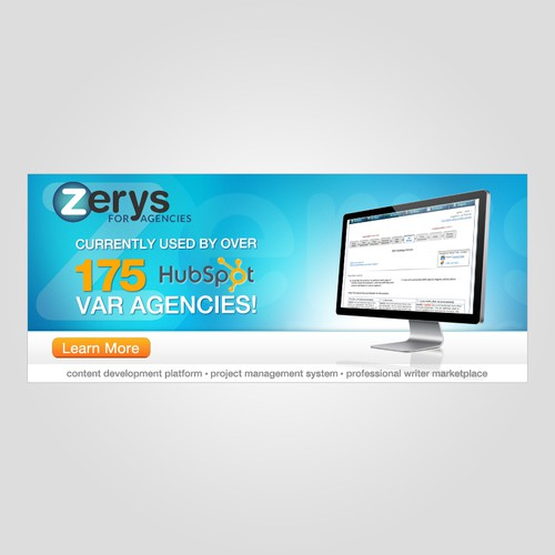 banner ad for Zerys for Agencies