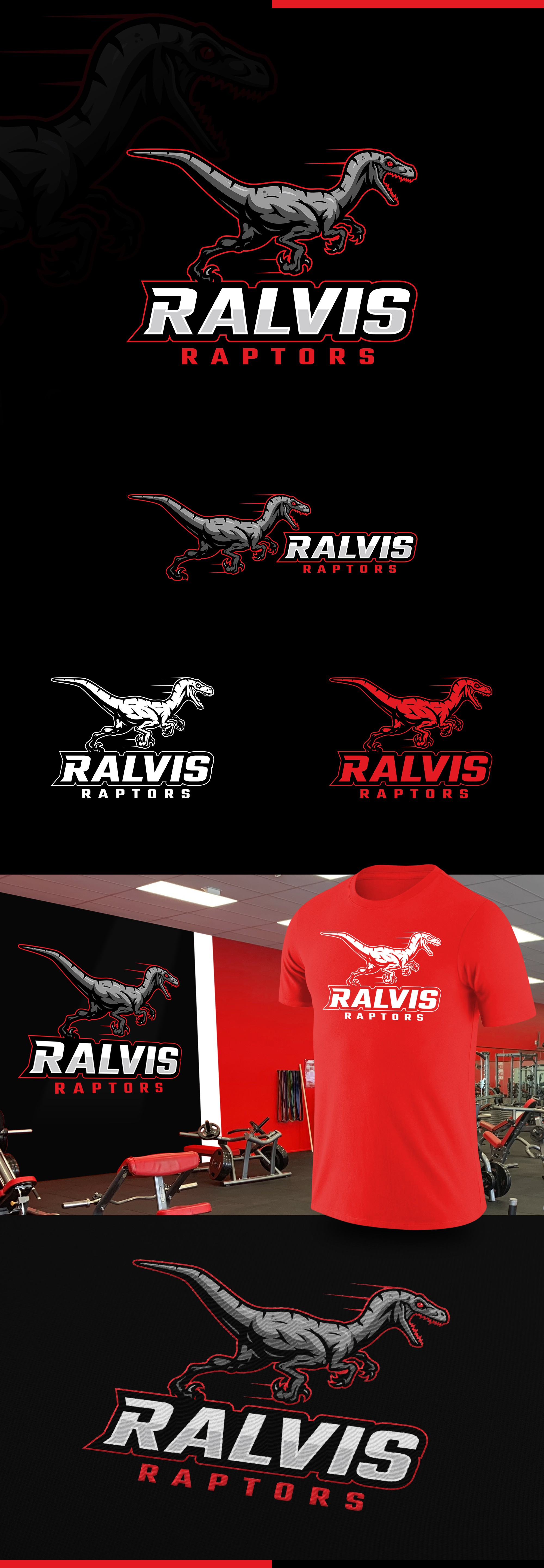 VELOCIRAPTOR on the HUNT logo that appeals to athletes!