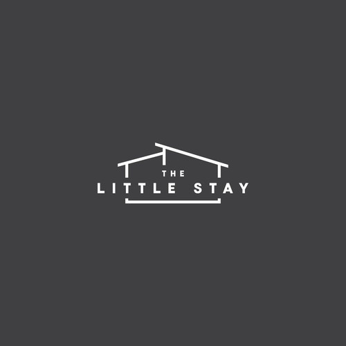 Logo concept for The Little Stay hotel