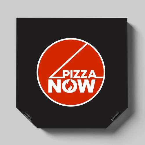 Logo concept for new pizza delivery