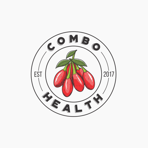 Organic Logo for Vitamin Supplement