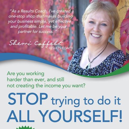 Results Partner magazine ad