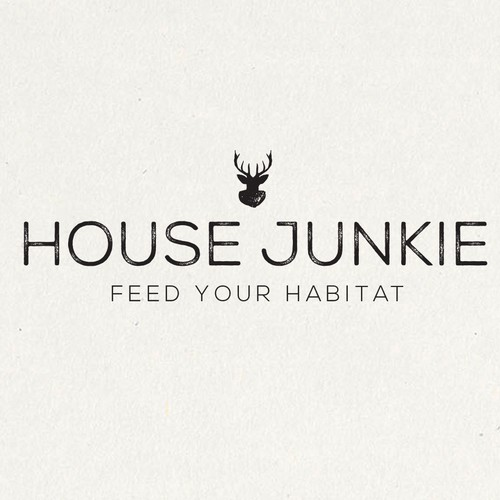 Create a hipster, cool typographic logo with an edgy feel