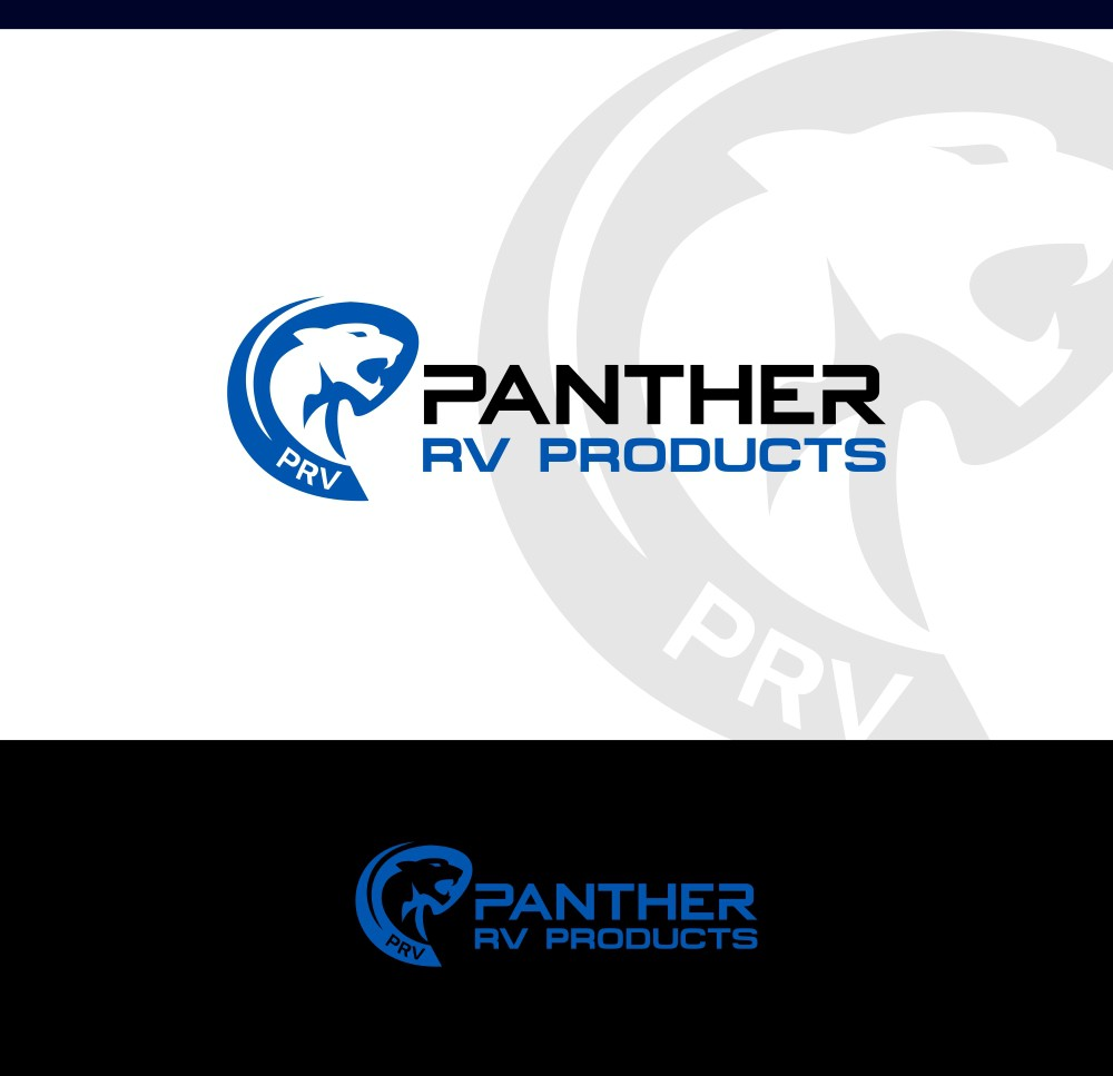 Design a modern logo for an RV Parts retailer.