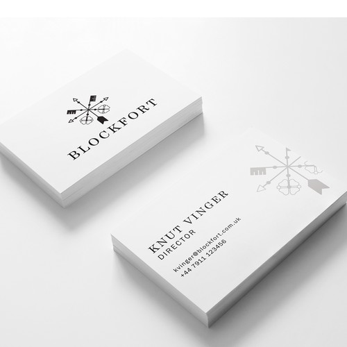 Blockfot Business Card Idea