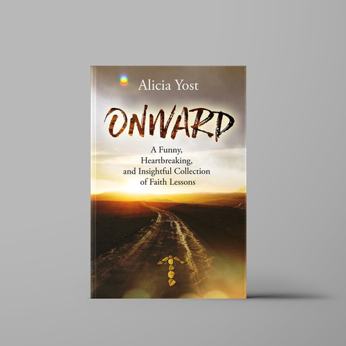 Cover design for book ONWARD