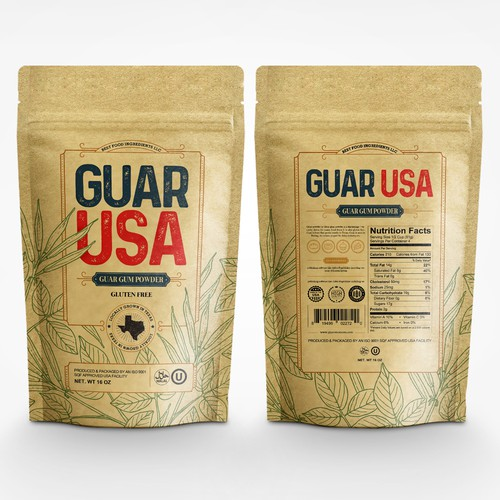 Guar USA packaging