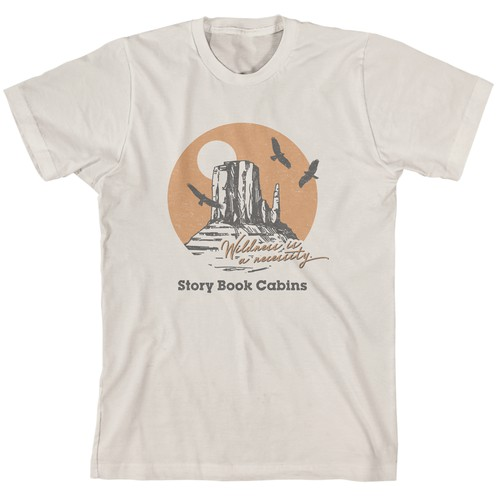 Vintage Shirt Concept for Story Book Cabins