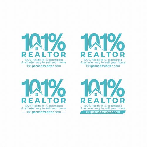 Logo concept for 101% REALTOR