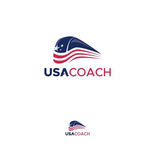 Logo for USA COACH