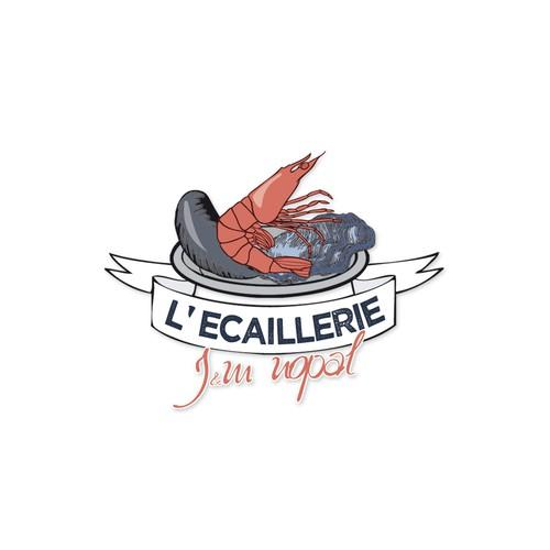 logo pour L' Ecaillerie  j&m nopal