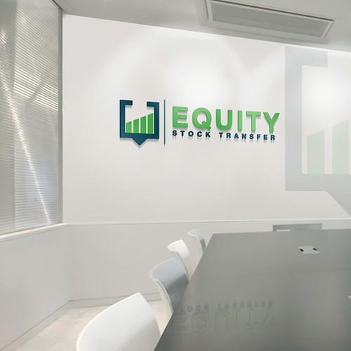 Classy logo for 'Equity Stock Transfer'