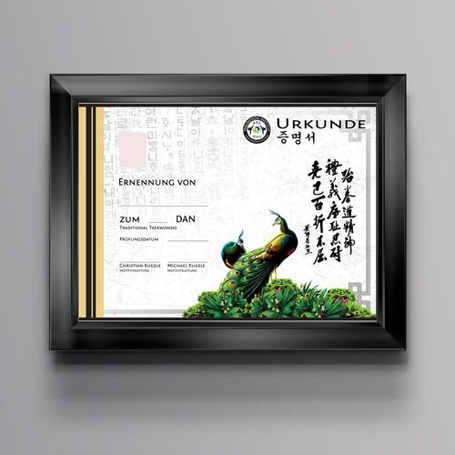 Taekwondo Certificate