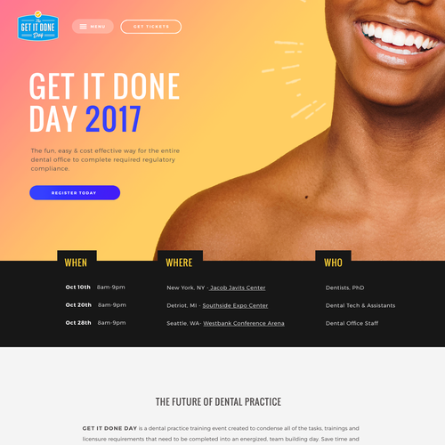Get It Done Day - Dental Event