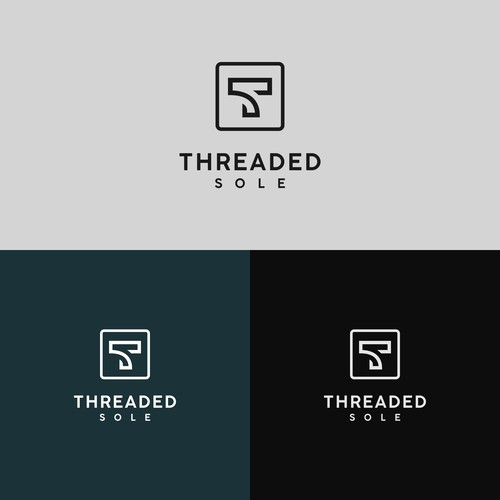 Threaded Sole online sock store logo design