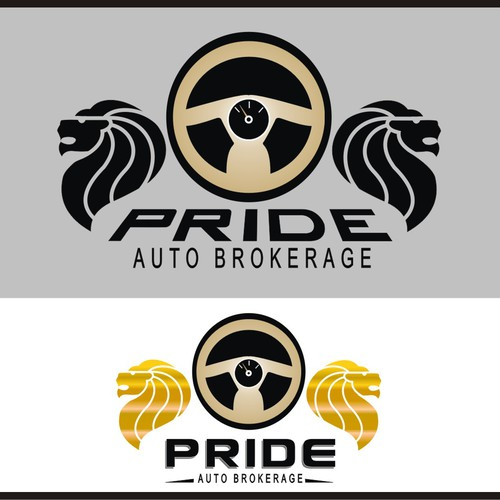 Create a logo for a Car/Auto Broker business catering to high end clients