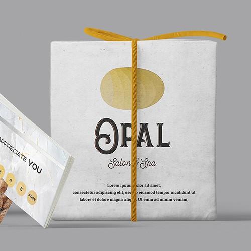 Logo concept for Opal Spa