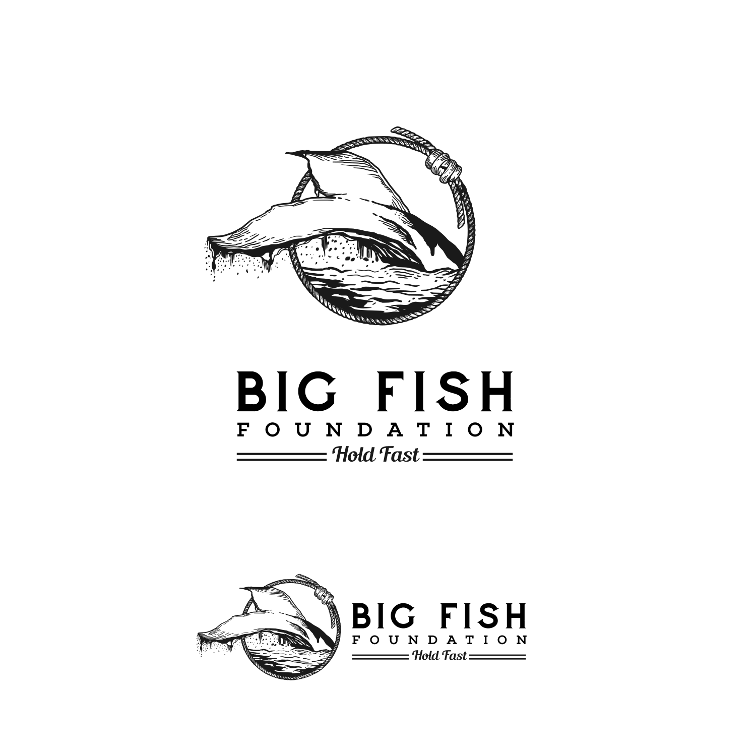 Big Fish Foundation (for veteran causes) branding opportunity