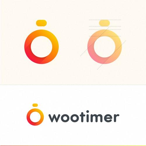 Wootimer icon design