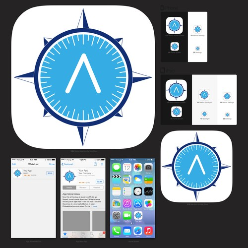App icon for Marcato, which creates site-specific browser for iOS
