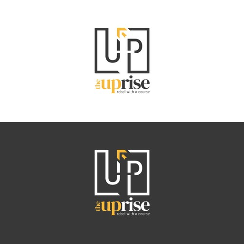 "logo for ""The Uprise"" youth organization"