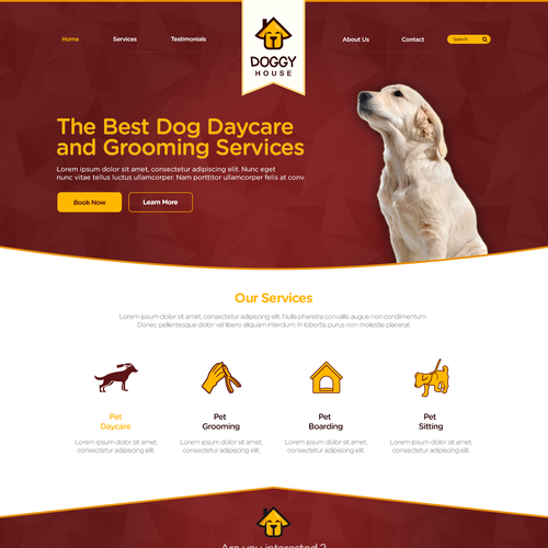 Website for Doggy House