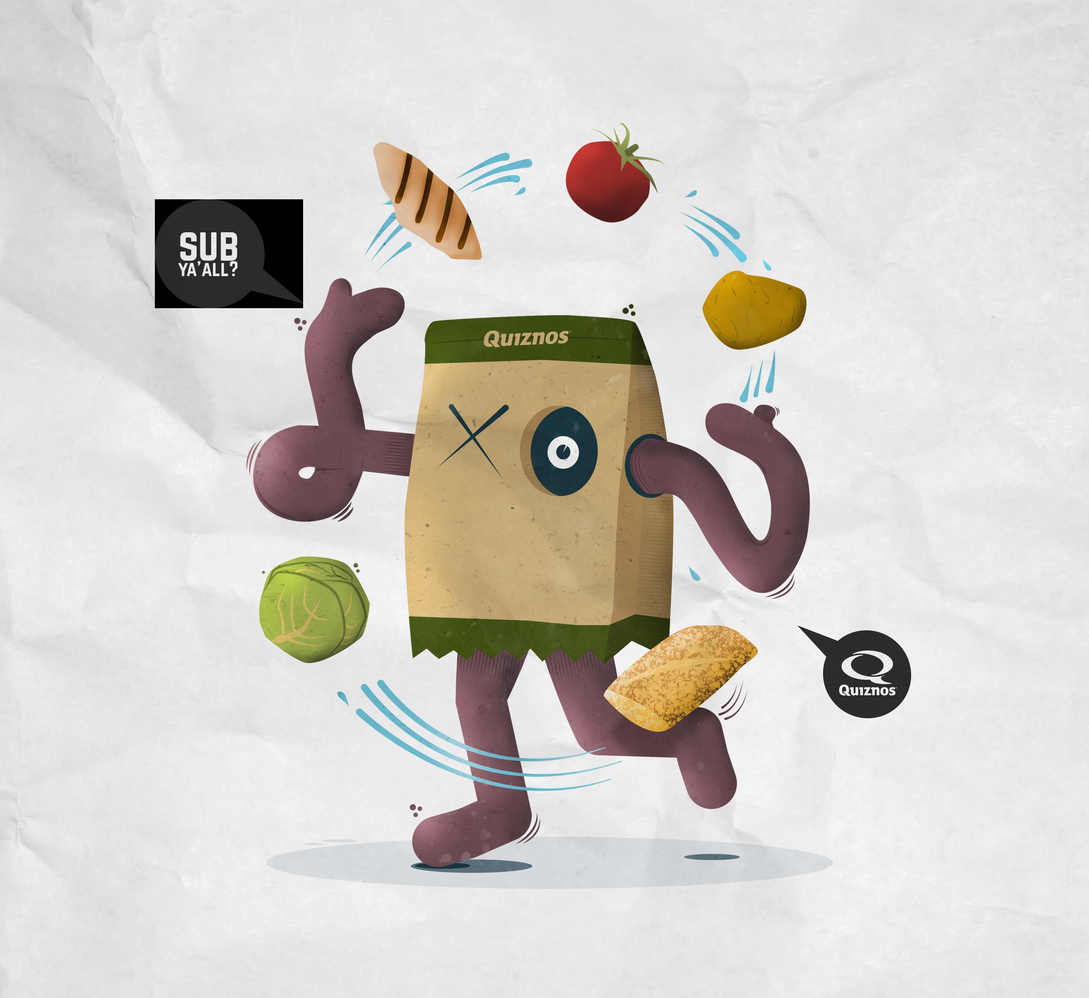 Quiznos 2017 Calendar of Food Illustrations **GUARANTEED** AWARDING 14 WINNING DESIGNS**