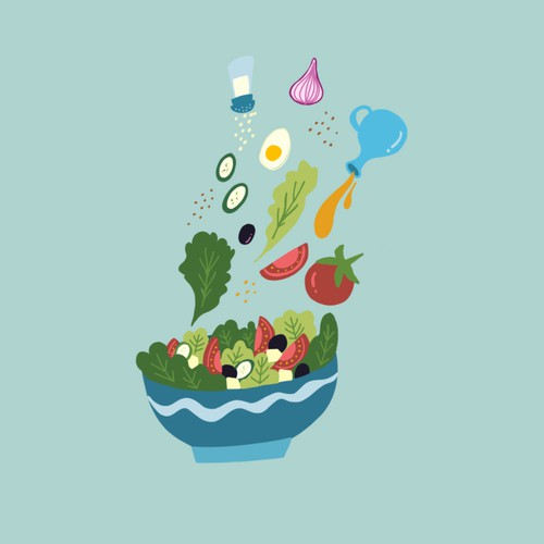 Veggies Illustration