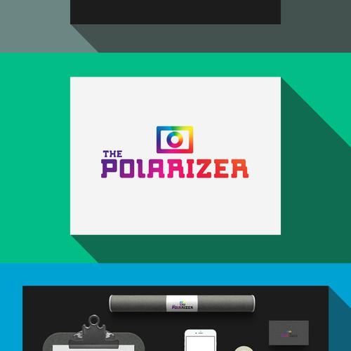 """Vintage """"The Polarizer"""" logo"""