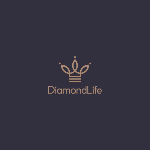 Logo for a company specialst in luxury custom lighting and crystal chandelier