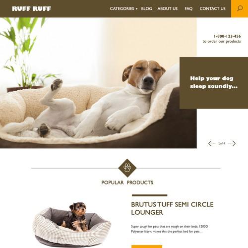 Design version for Doggy Website