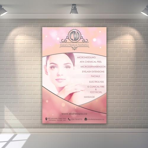 poster for Elaine's Medical Aesthetics