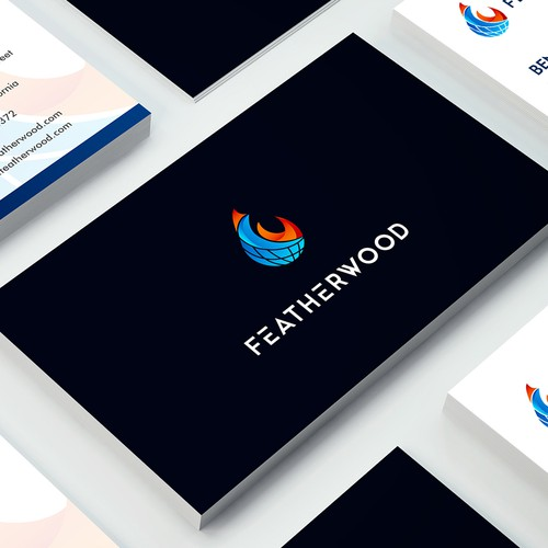 Logo design for Power plant developer and clean fuel sales company