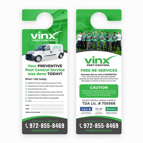 Vinx Pest Control