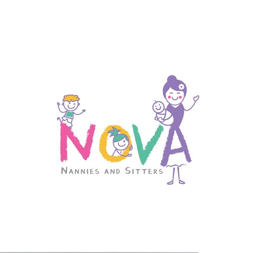 Logo concept for Nova Nannies