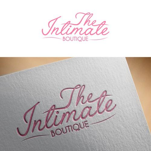 Fun, Flirty & Feminine Logo for Lingerie Company - The Intimate Boutique