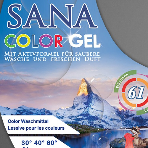 Laber for Sana Color Gel