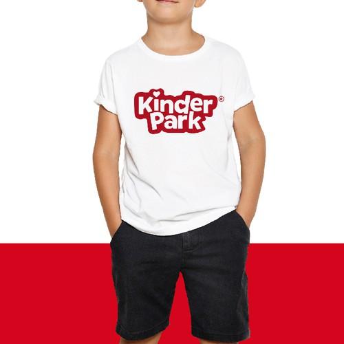 Funny kids logo.
