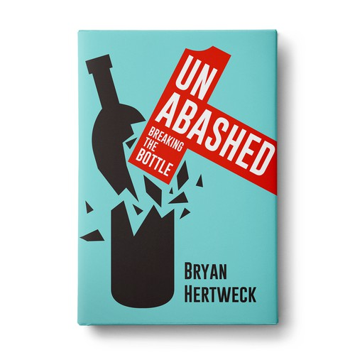 Need an eye-catching cover for an intriguing memoir mixed with addiction self-help