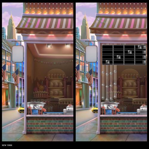 CandyMogul - USA Store Window
