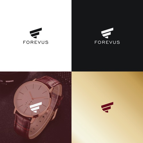 "Logo concept for ""Forevus"""