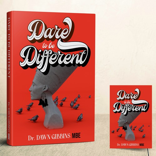 Dare to be Different BookCover concept
